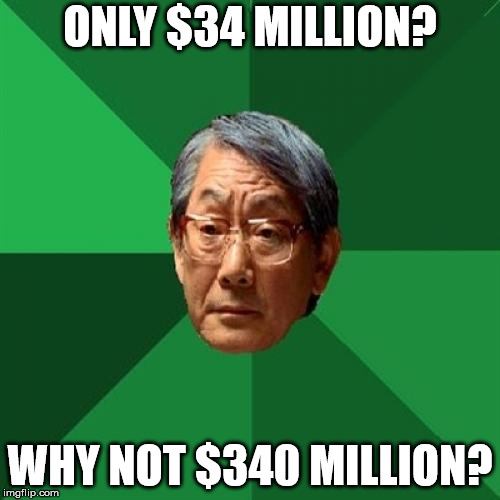 High Expectation Asian Dad - 34 million